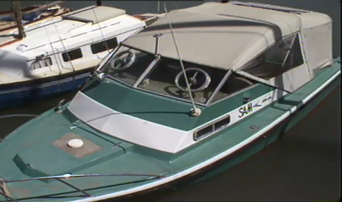 Picture of boat in relation to the 1983 death of Janita McNaughton.