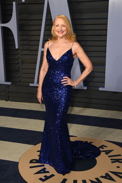 Patricia Clarkson at the 2018 Vanity Fair Oscars After Party