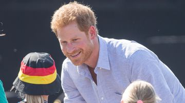 Prince Harry spreads the love at Invictus Games