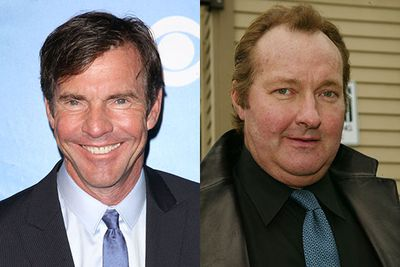 It's always a tricky call as to which male heartthrobs are going to age well and which are going to degenerate into blobby advertisements for sobriety. Dennis Quaid hasn't done too badly but his less-famous brother Randy seems to have let himself go a bit...