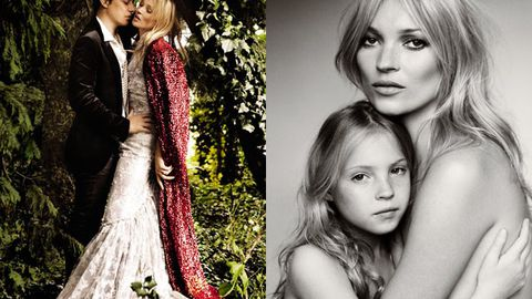 Official pics!  Kate Moss and Jamie Hince's wedding