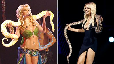 Britney Spears and Sophie Monk