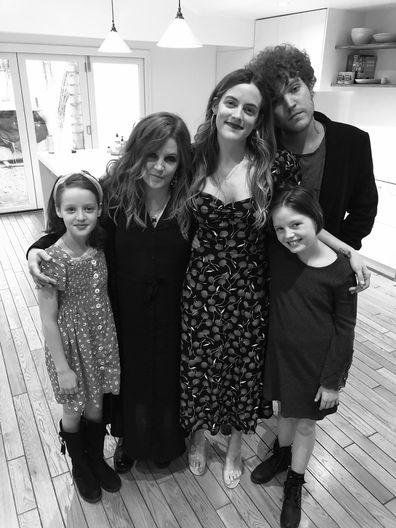 Lisa Marie Presley, son Benjamin Keough, daughters, photo, Twitter