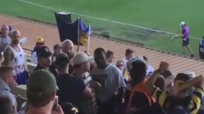 AFL investigating racial abuse in Port Adelaide and West Coast Eagles game in Perth