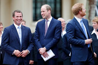 Peter will walk between Prince William and Prince Harry at Prince Philip's funeral procession.