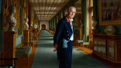 New portrait of Prince Philip painted by Australian artist