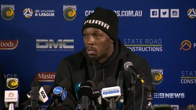 Usain Bolt bracing for 'blistering learning curve' at Central Coast Mariners