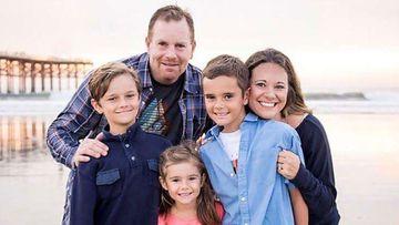 Ari Gershman with his family.