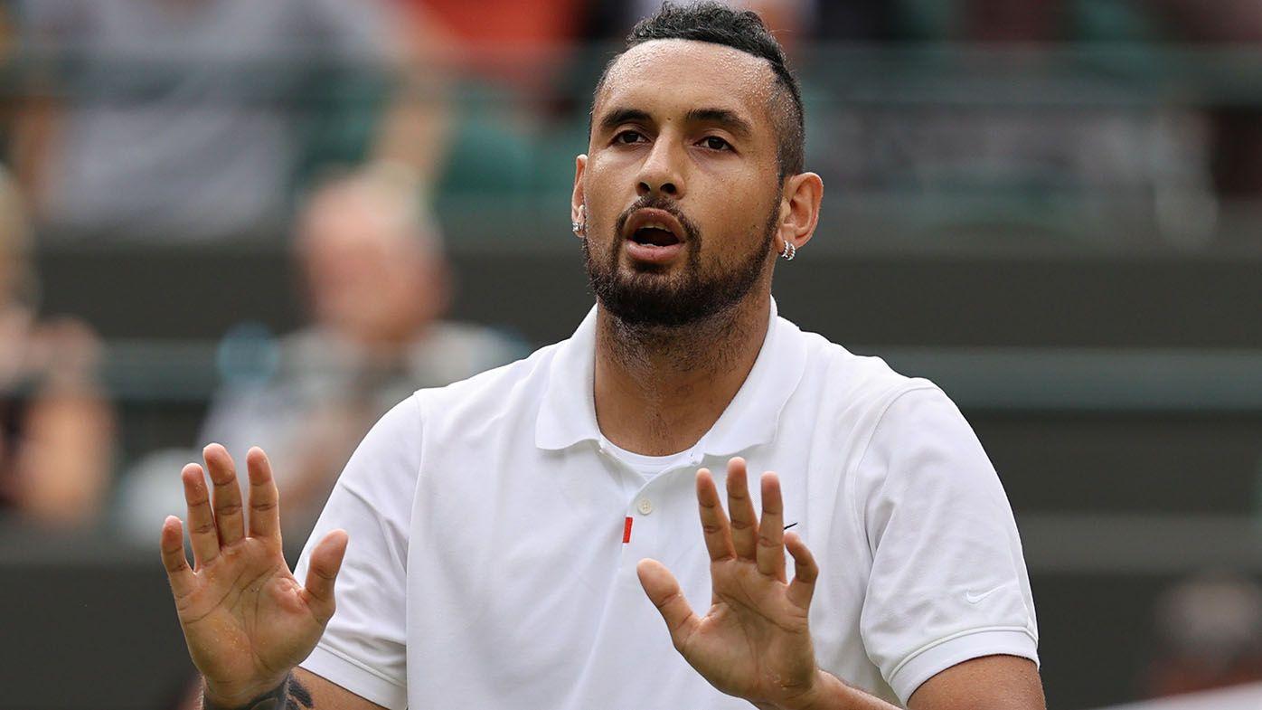 Wimbledon 2021: Nick Kyrgios retires hurt against Felix Auger-Aliassime in round three