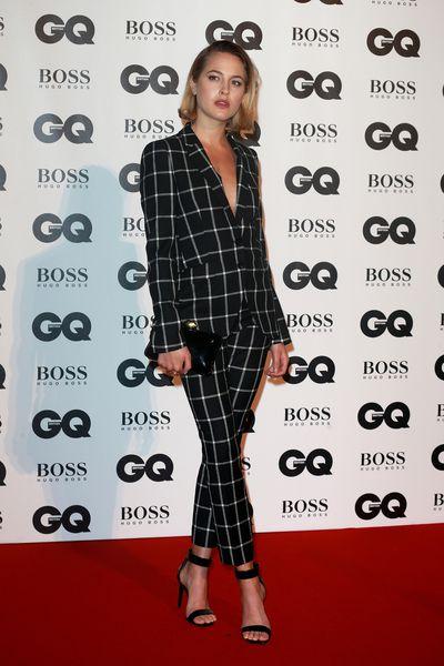 Tess Wardat the BritishGQMen of the Year Awards