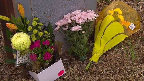 Tributes were left at the scene of the crash in south Adelaide.