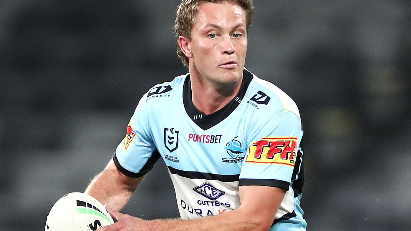 Cronulla Sharks lose Matt Moylan for derby clash against Dragons
