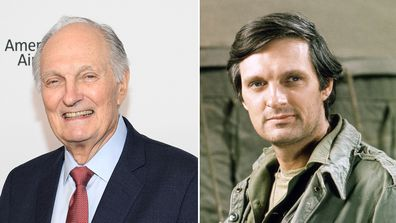 MASH, Alan Alda, TV show, uniform, event