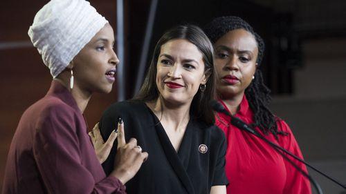 Donald Trump has labelled Minnesota Congresswoman Ilhan Omar as 'pro-terrorist'.