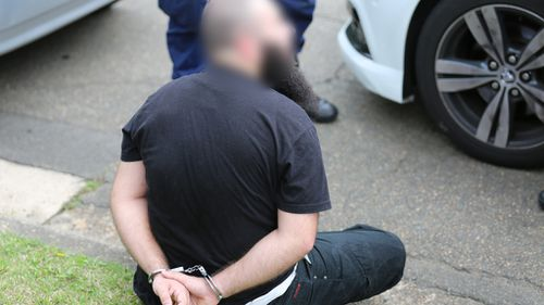 The Marsfield man, 22, was arrested on November 14 last year. (NSW Police)