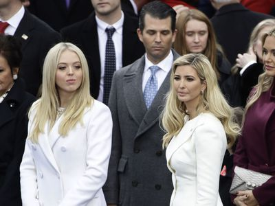 Ivanka Trump at Donald Trump's inauguration, 2017