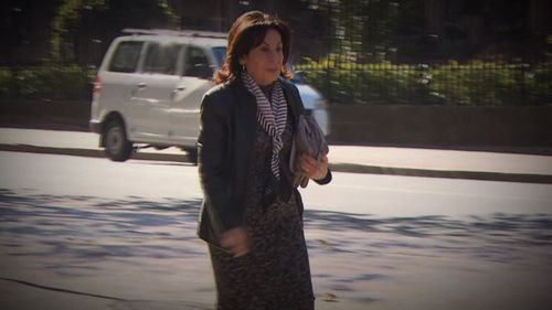 One of the author's closest friends, Selwa Anthony, said in court she was worried her husband Ric Robinson was controlling her. Picture: 9NEWS