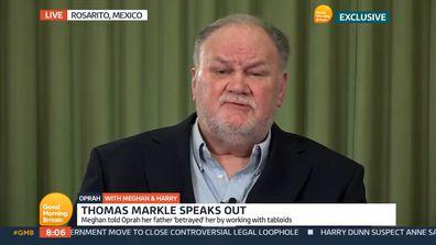 Thomas Markle on Good Morning Britain