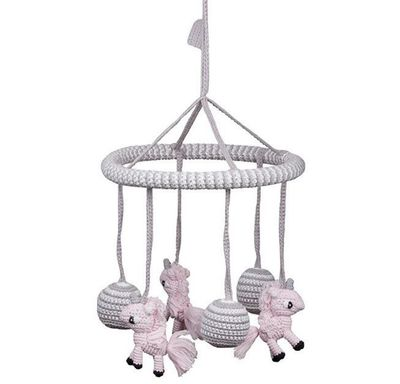 "<a href=""http://www.miannandco.com.au/products/unicorn-mobile"" target=""_blank"">Miann and Co Unicorn Mobile, $70.</a>"