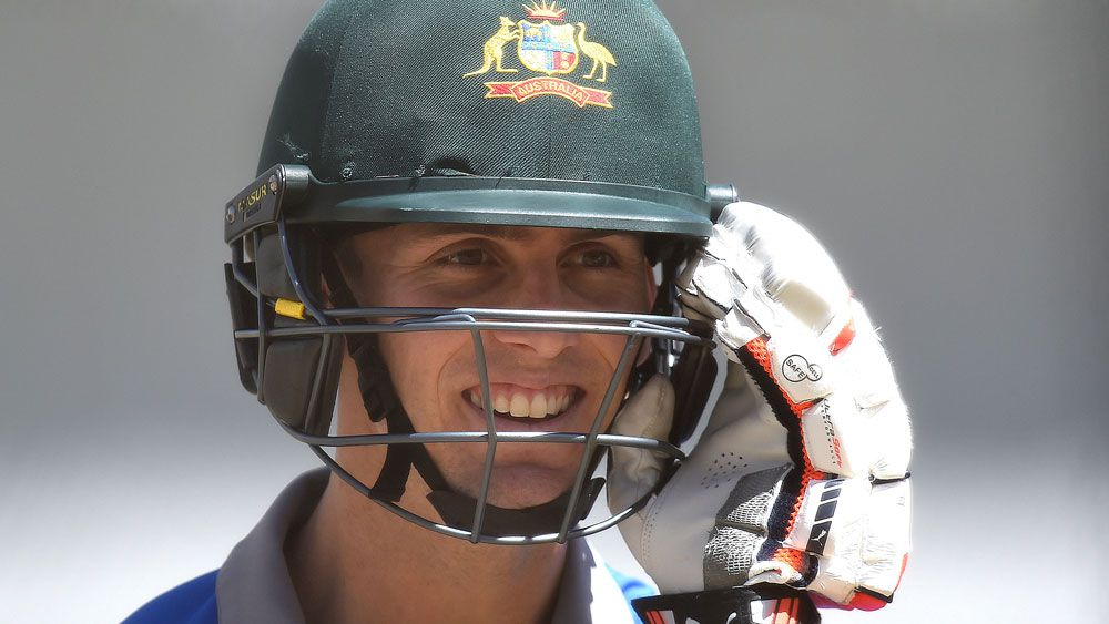 Marsh in the runs as Aussie spinners toil