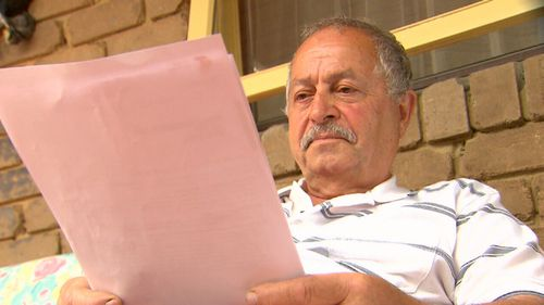 Khalil Eid isn't even a Telstra customer and got slapped with a bill for more than $24,000. (9NEWS)