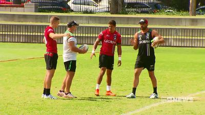 Racial taunt directed at Greg Inglis revealed as South Sydney Rabbitohs rally around their teammate