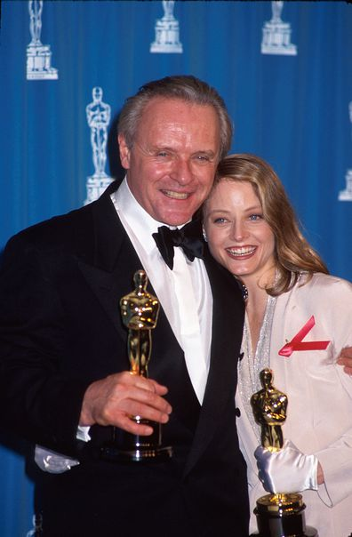 Anthony Hopkins, Jodie Foster, Oscars, 1992
