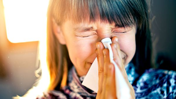 There's a right way to blow your nose when you have a cold