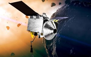 NASA spacecraft safely seals up asteroid sample to return to Earth