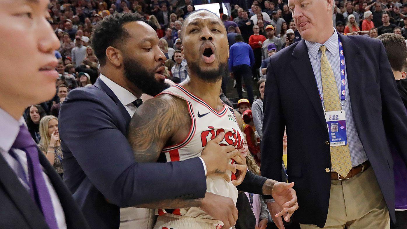 'Sloppy' NBA refs slammed after 'horrific' call in Utah Jazz win over Trail Blazers