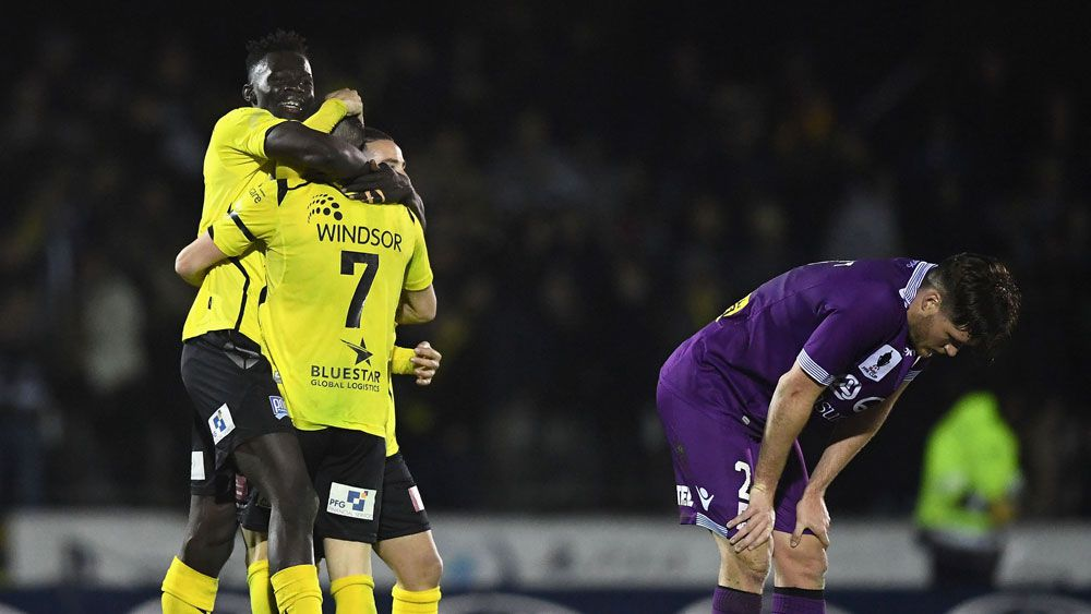 Heidelberg United stun Perth Glory in giant-killing display in FFA Cup