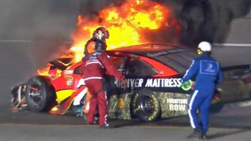 Quiet achiever Johnson joins NASCAR elite