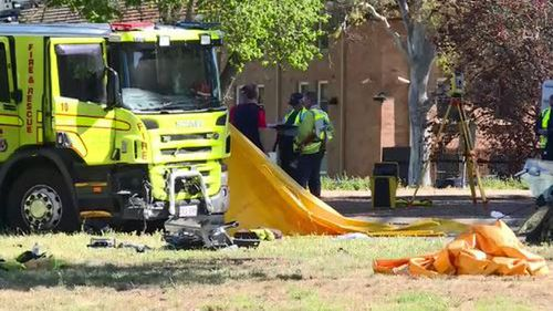 One dead after car collides with fire truck in Canberra