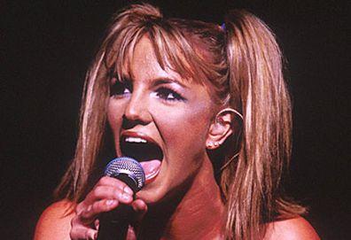 Britney Spears performing in 1999 (Getty)