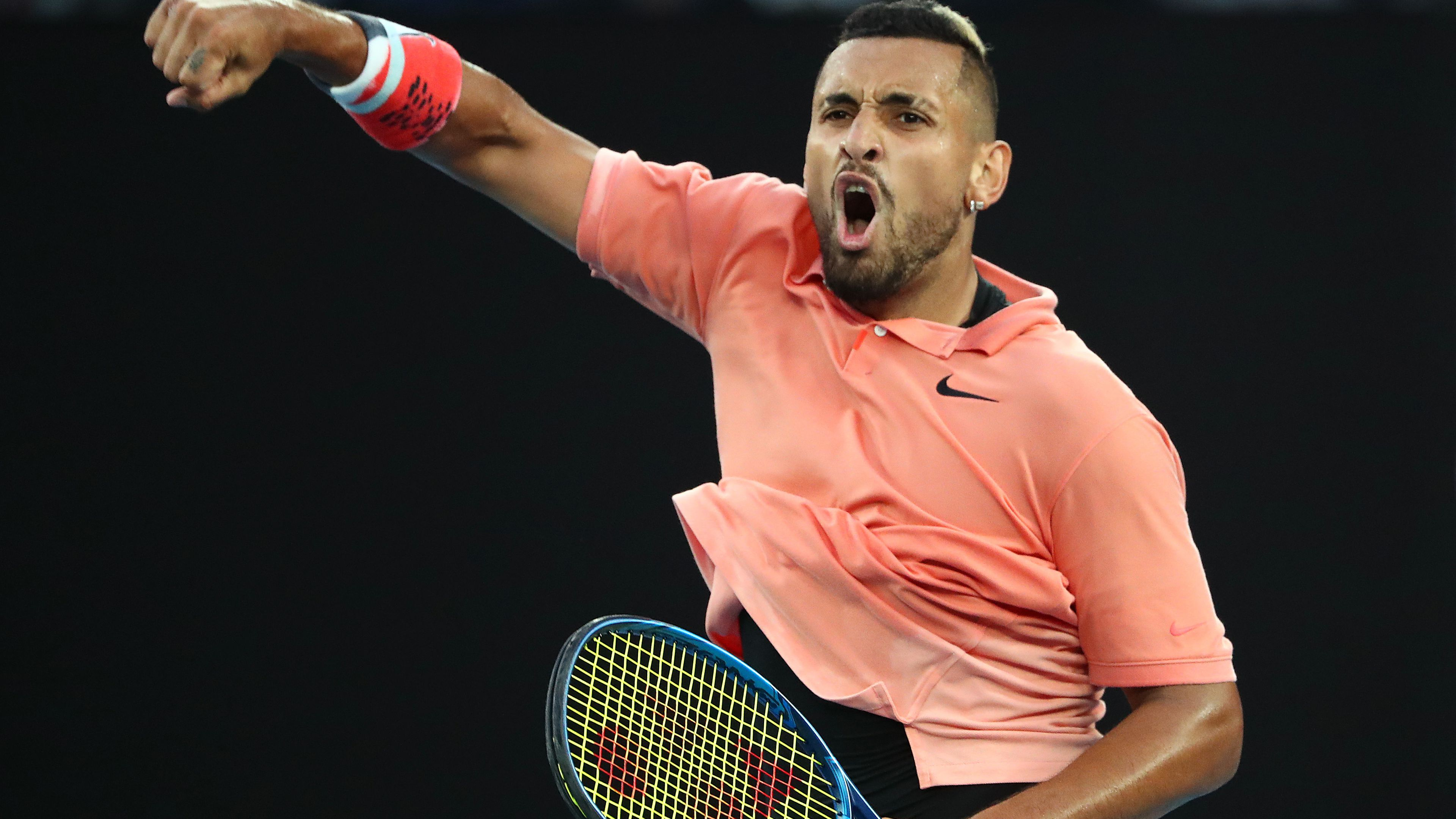 John McEnroe confident in turning point for Nick Kyrgios, after exit at 'slow' Open