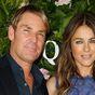 Shane Warne and ex-fiancée Elizabeth Hurley exchange flirty comments on Instagram