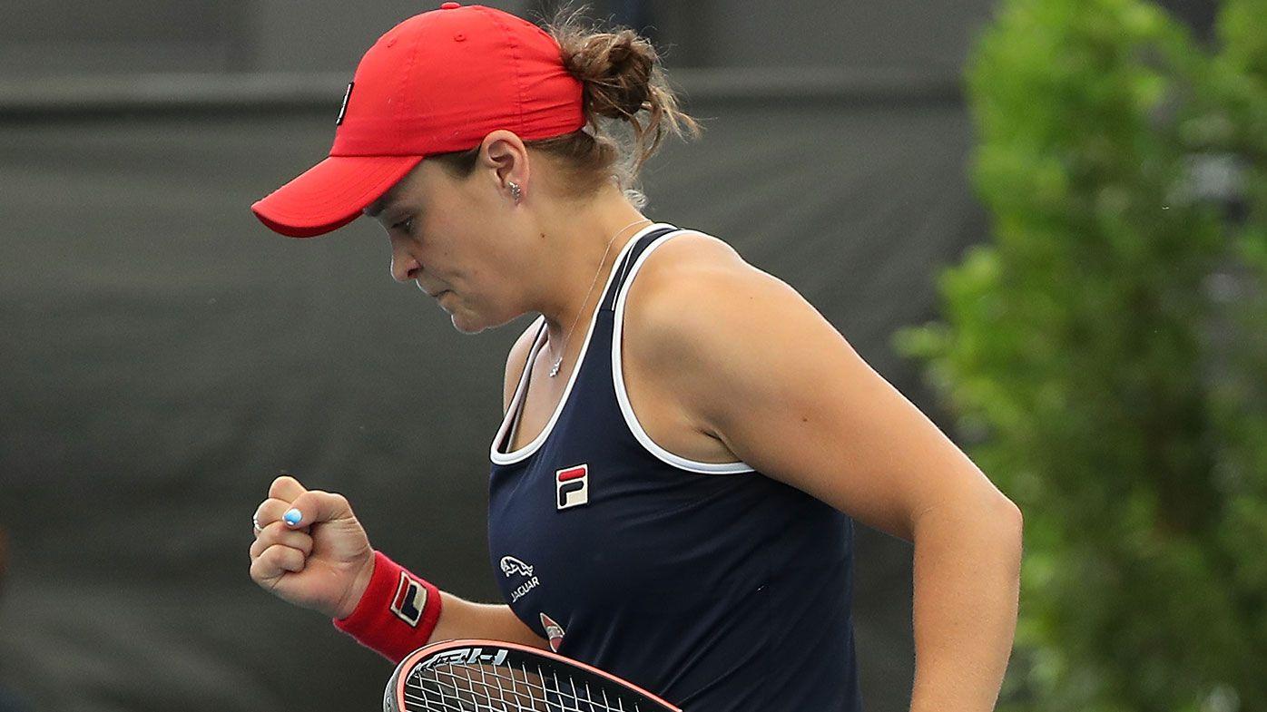 Ash Barty defeats Anastasia Pavlyuchenkova at Adelaide International
