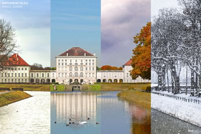 Nymphenburg Palace in Munich, Germany