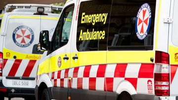 NSW Ambulances.