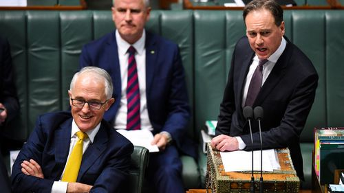 Mr Turnbull met with loyalists last night.