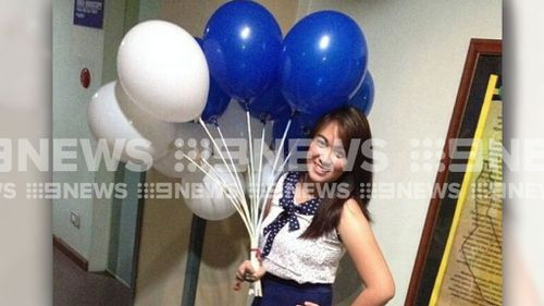 Shanne Naron was leaving work when she was hit by a car. (Supplied)
