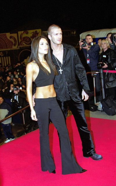 <p><strong>Rhythm Section</strong></p> <p>Victoria and David Beckham at the 2nd Annual NRJ Music Awards, January 2001.</p>