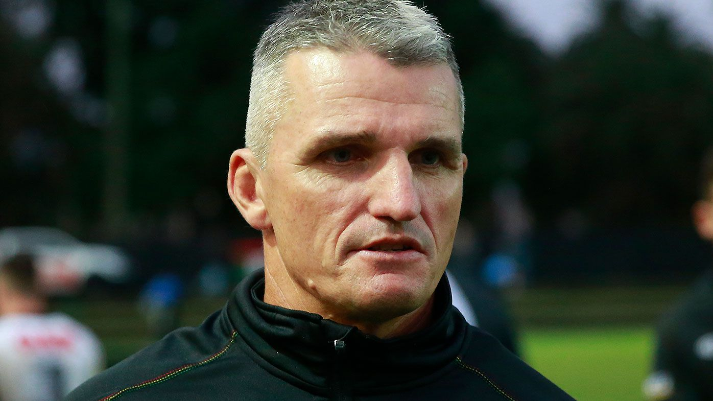 Penrith coach Ivan Cleary denies blow-up led to Gould exit