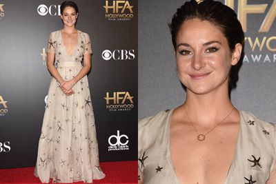 Shailene Woodley won the Hollywood Breakout Performance Actress award for <i>The Fault in Our Stars</i>.