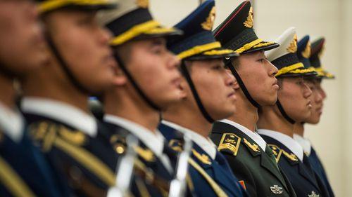 China military servicemen