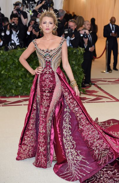 "<p>We're a little bit obsessed with <a href=""https://style.nine.com.au/2018/03/20/13/11/celebrities-who-dont-use-a-stylist-blake-lively"" target=""_blank"">Blake Lively</a> here.</p> <p> We all want to be her best friend, and not just to get close to her husband Ryan Reynolds, but because the girl's got it all going on.</p> <p>She fights for women's rights, stands up for equality and shares the relateable side of parenting.</p> <p>And if that's not enough, it doesn't exactly hurt that she's always doing it while slaying it in the style stakes, never putting a fashionable foot wrong.</p> <p>She wowed for all the right reasons at the Met Gala last week, wearing a custom Versace gown that required an actual bus to get her to the event and reportedly took over 600 hours to craft by hand, and earlier this week she raised the sartorial bar once again at the Deadpool 2 premiere in Los Angeles wearing a stunning Brandon Maxwell dress.</p> <p>So, it's no wonder she's our Woman Crush Wednesday this week. In honour of all things Lively, we take a look at the actresses 12 most memorable red carpet looks.</p>"