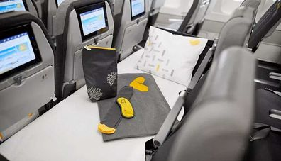 Thomas Cook economy sleeper seat