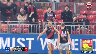 Former Giant helps Bombers beat GWS in AFL