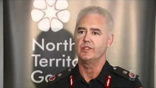 Senior NT police officer suspended after McRoberts resigns