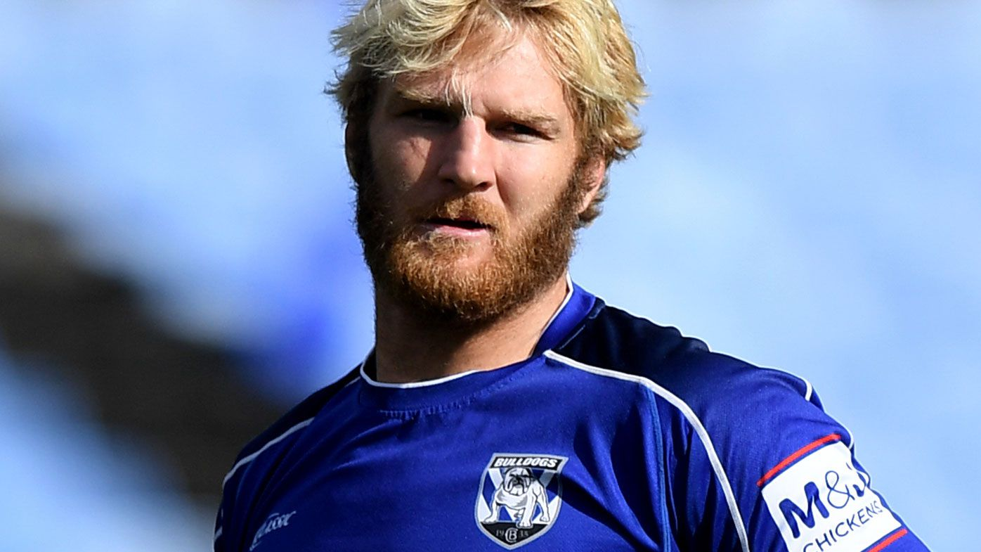Bulldogs bosses split over Aiden Tolman's forced self-isolation after COVID-19 scare